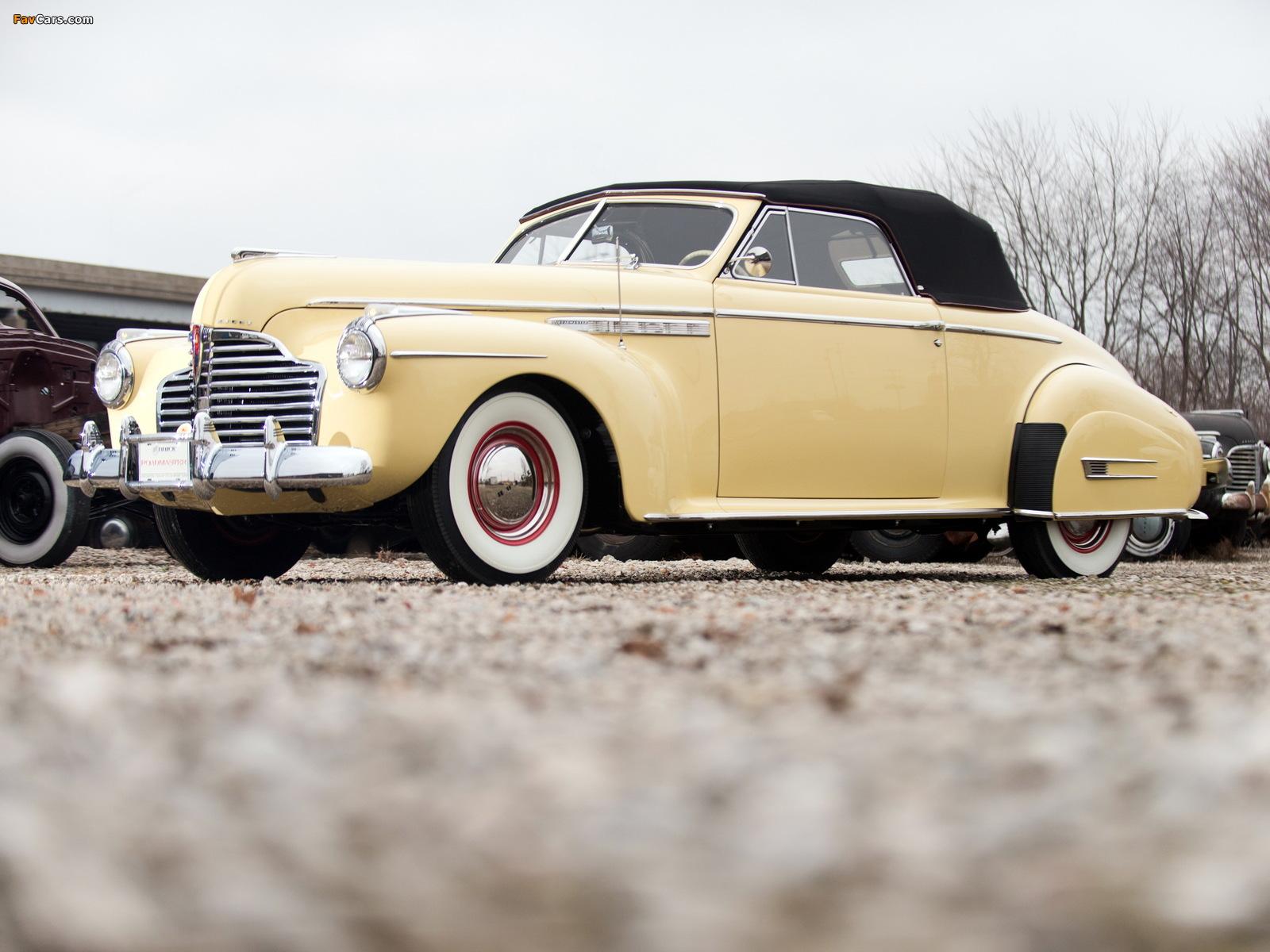 Buick Roadmaster Convertible 1941 wallpapers (1600 x 1200)