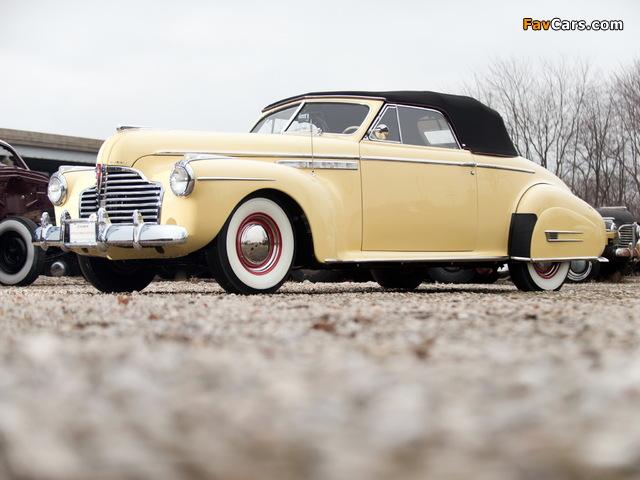 Buick Roadmaster Convertible 1941 wallpapers (640 x 480)