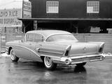 Buick Roadmaster 75 4-door Riviera Hardtop (75-4739X) 1958 wallpapers