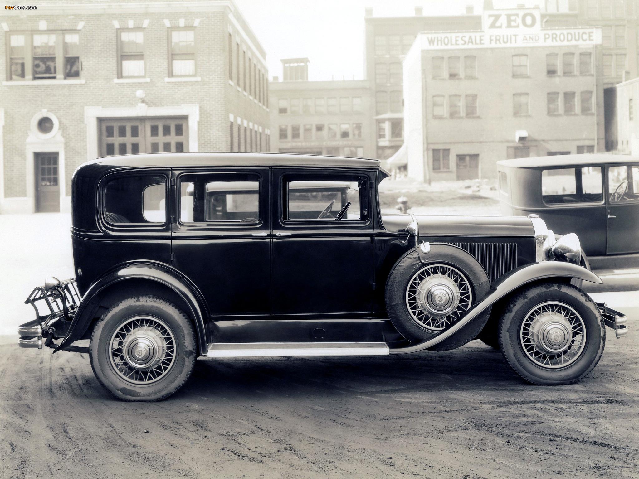 Images of Buick Series 40 4-door Sedan (30-47) 1930 (2048 x 1536)