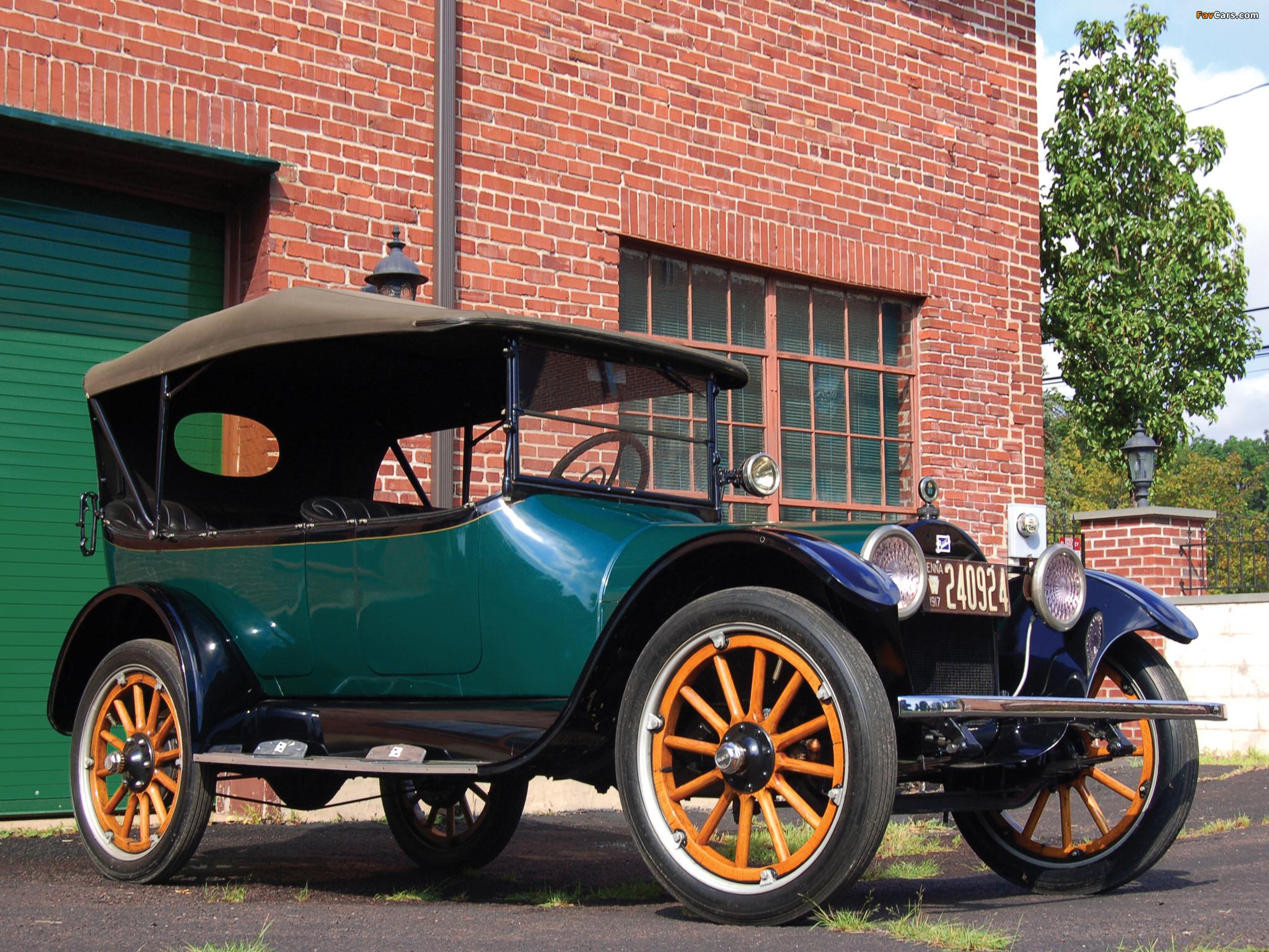 Buick Model D-45 Touring 1917 photos (2048 x 1536)