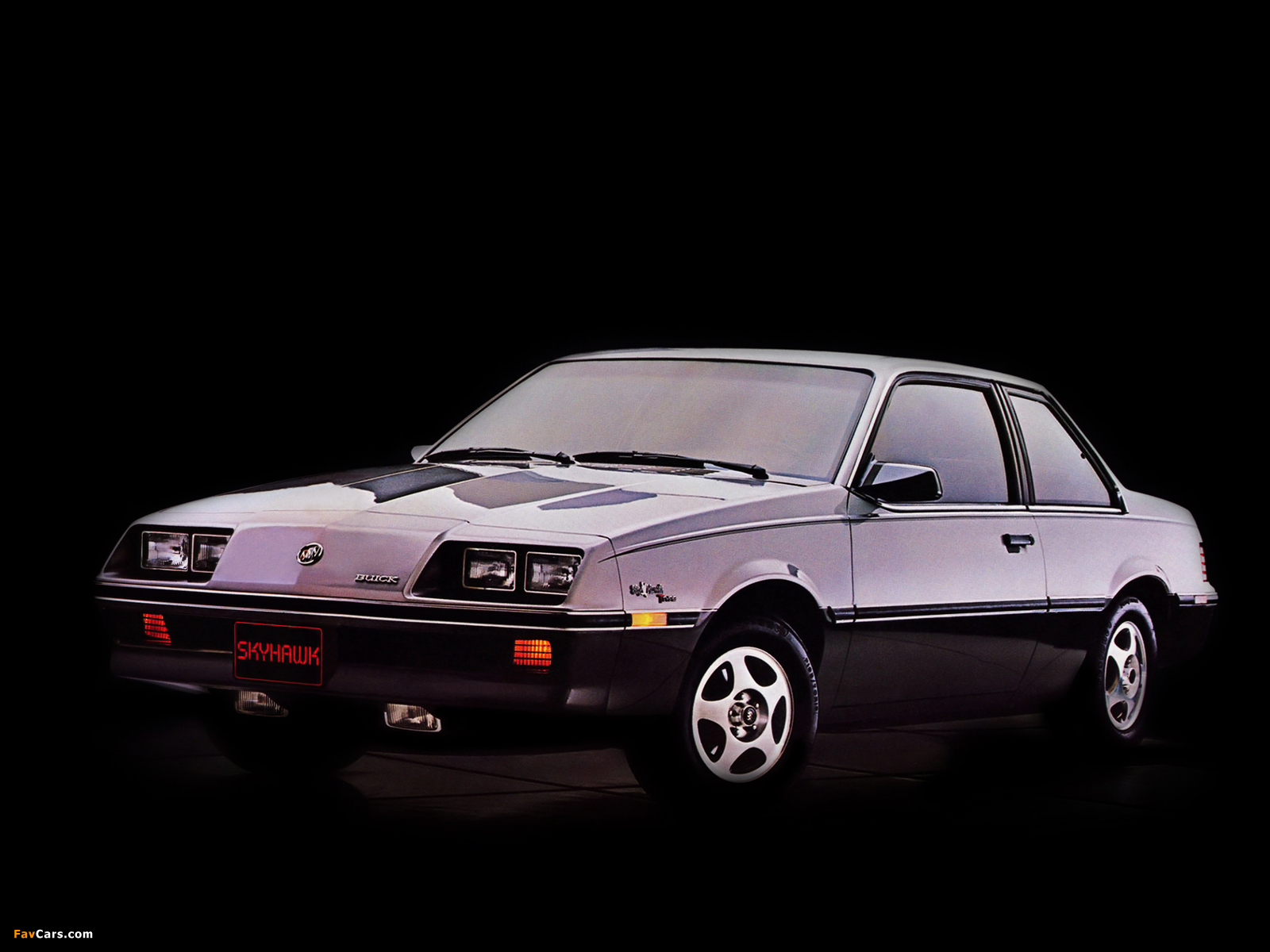 Photos of Buick Skyhawk T-Type Coupe 1983 (1600 x 1200)