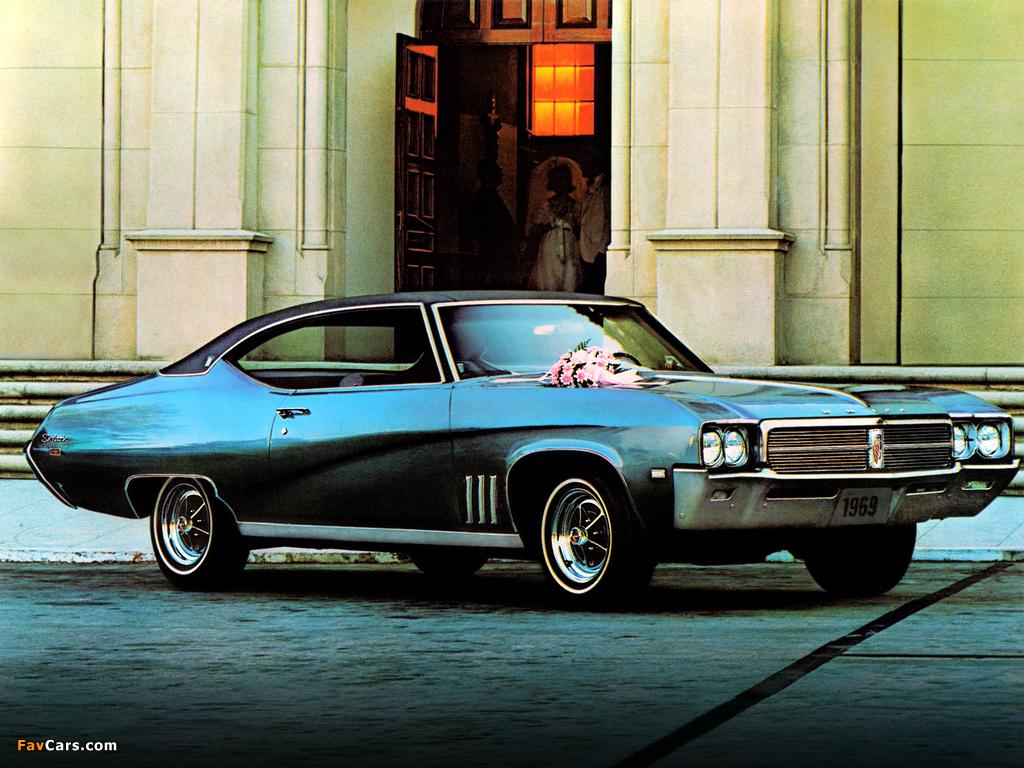 Buick Skylark Custom Sport Coupe 1969 photos (1024 x 768)