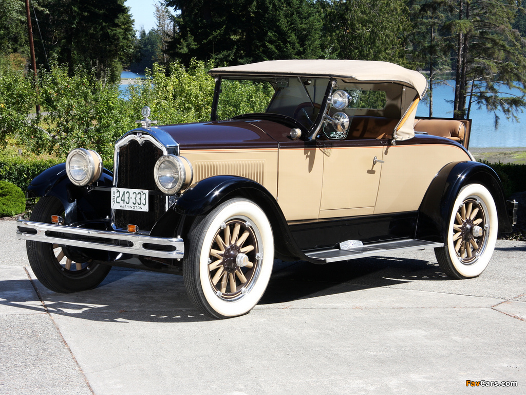 Buick Standard Six Sport Roadster (27-24) 1927 images (1024 x 768)