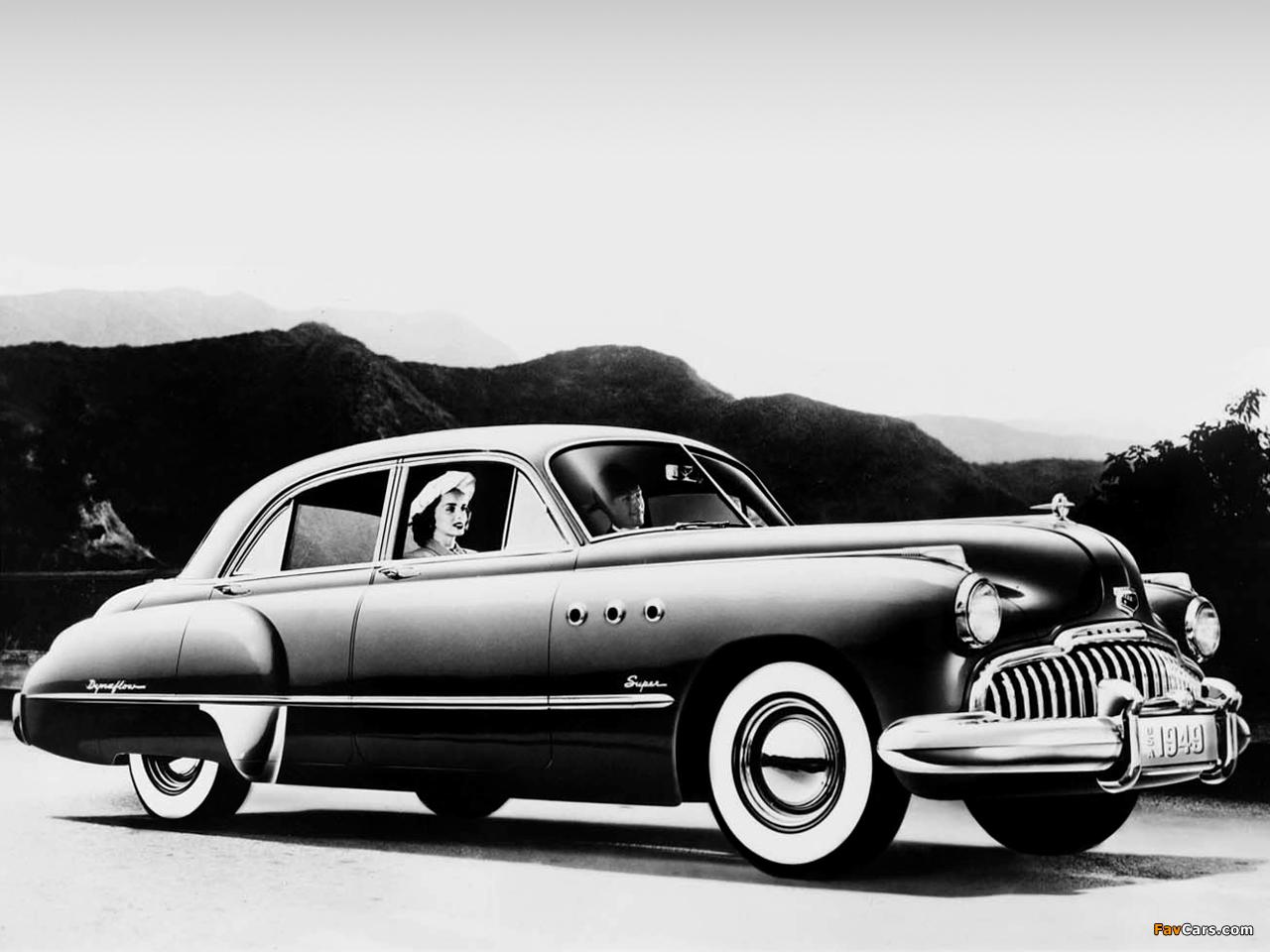 Buick Super Eight 4 Door Sedan 51 1949 Wallpapers 1280x960