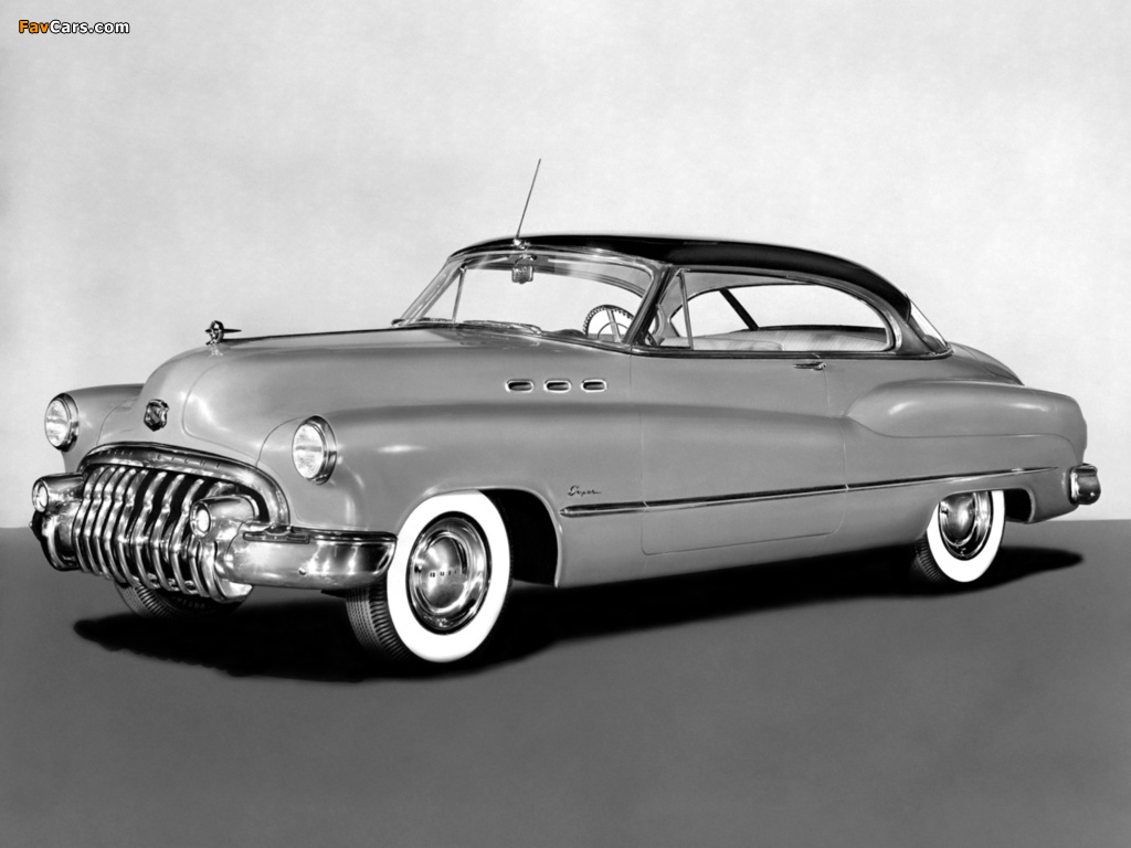 Pictures of Buick Super Riviera Hardtop Coupe (56R-4537) 1950 (1024 x 768)