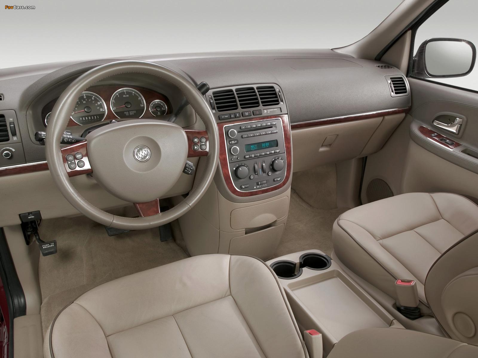 Buick Terraza 2004–07 images (1600 x 1200)