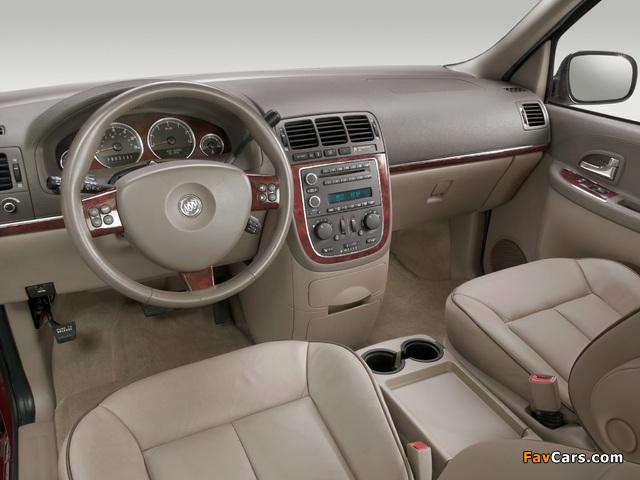 Buick Terraza 2004–07 images (640 x 480)