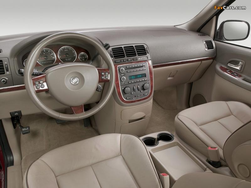 Buick Terraza 2004–07 images (800 x 600)