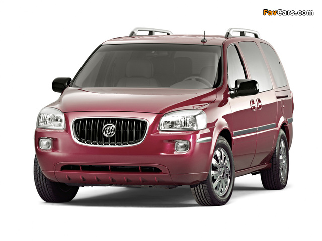 Buick Terraza 2004–07 pictures (640 x 480)
