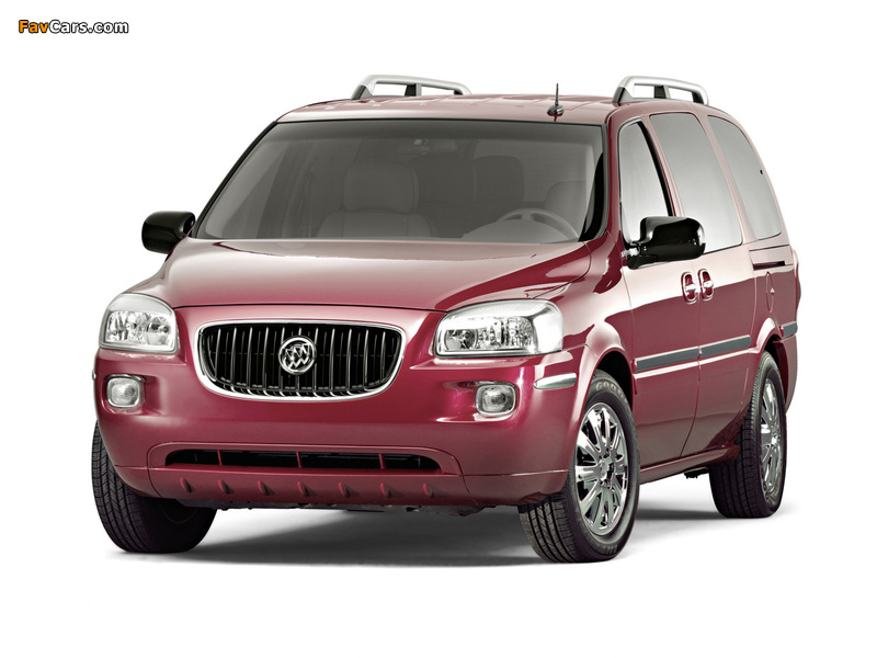 Buick Terraza 2004–07 pictures (800 x 600)