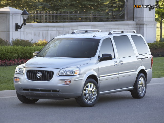 Photos of Buick Terraza 2004–07 (640 x 480)