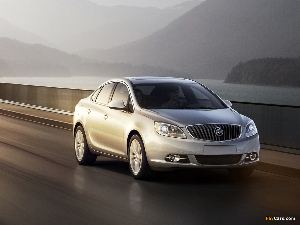 Images of Buick Verano 2011 (1024 x 768)