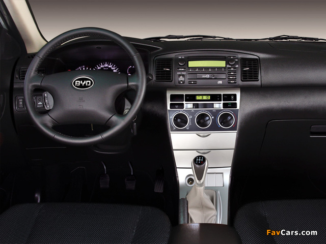 Pictures of BYD F3-R 2007 (640 x 480)