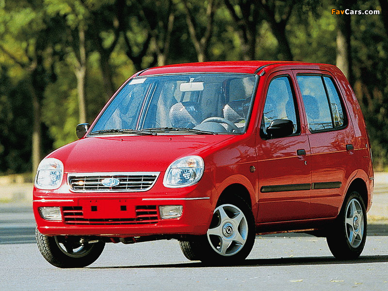 Photos of BYD Flyer 2001–05 (800 x 600)