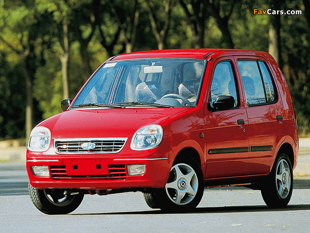 Photos of BYD Flyer 2001–05 (640 x 480)