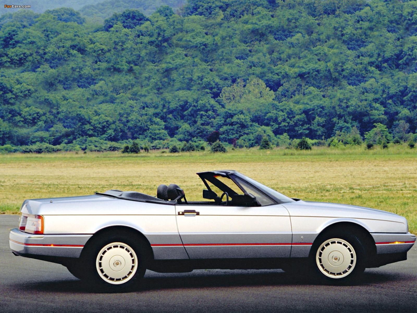 Cadillac Allanté 1987–93 images (1600 x 1200)