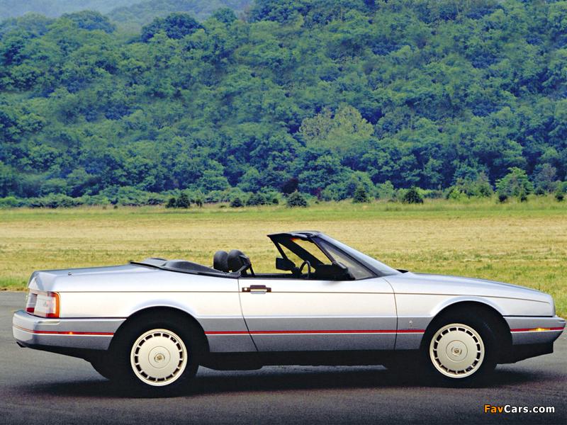 Cadillac Allanté 1987–93 images (800 x 600)