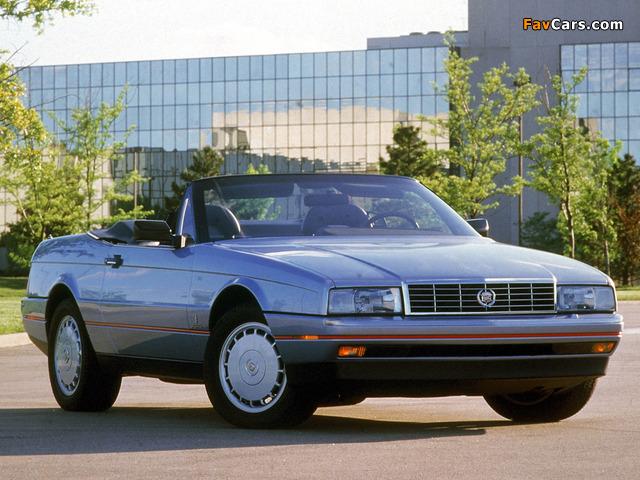 Cadillac Allanté 1987–93 images (640 x 480)