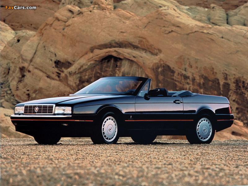 Cadillac Allanté 1987–93 photos (800 x 600)