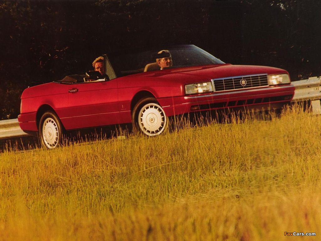 Images of Cadillac Allanté 1987–93 (1024 x 768)