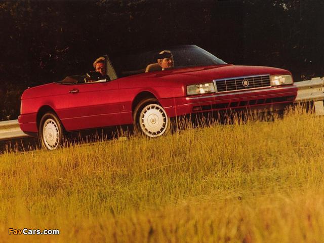 Images of Cadillac Allanté 1987–93 (640 x 480)
