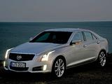 Cadillac ATS EU-spec 2012 images