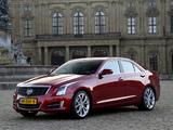 Images of Cadillac ATS EU-spec 2012