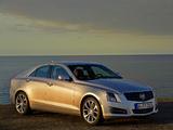 Photos of Cadillac ATS EU-spec 2012