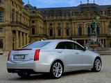 Pictures of Cadillac ATS EU-spec 2012