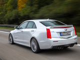 Pictures of Cadillac ATS-V EU-spec 2015