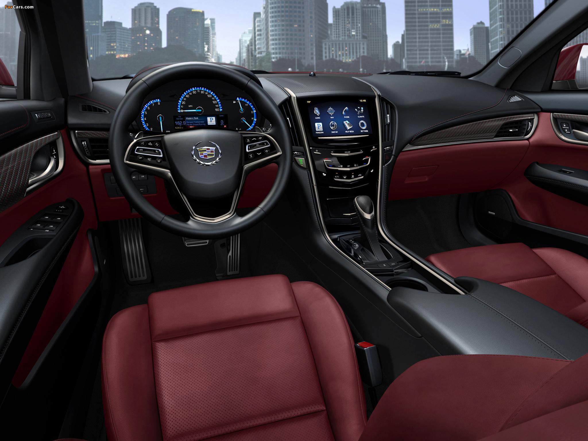 Cadillac ATS 2012 wallpapers (2048 x 1536)