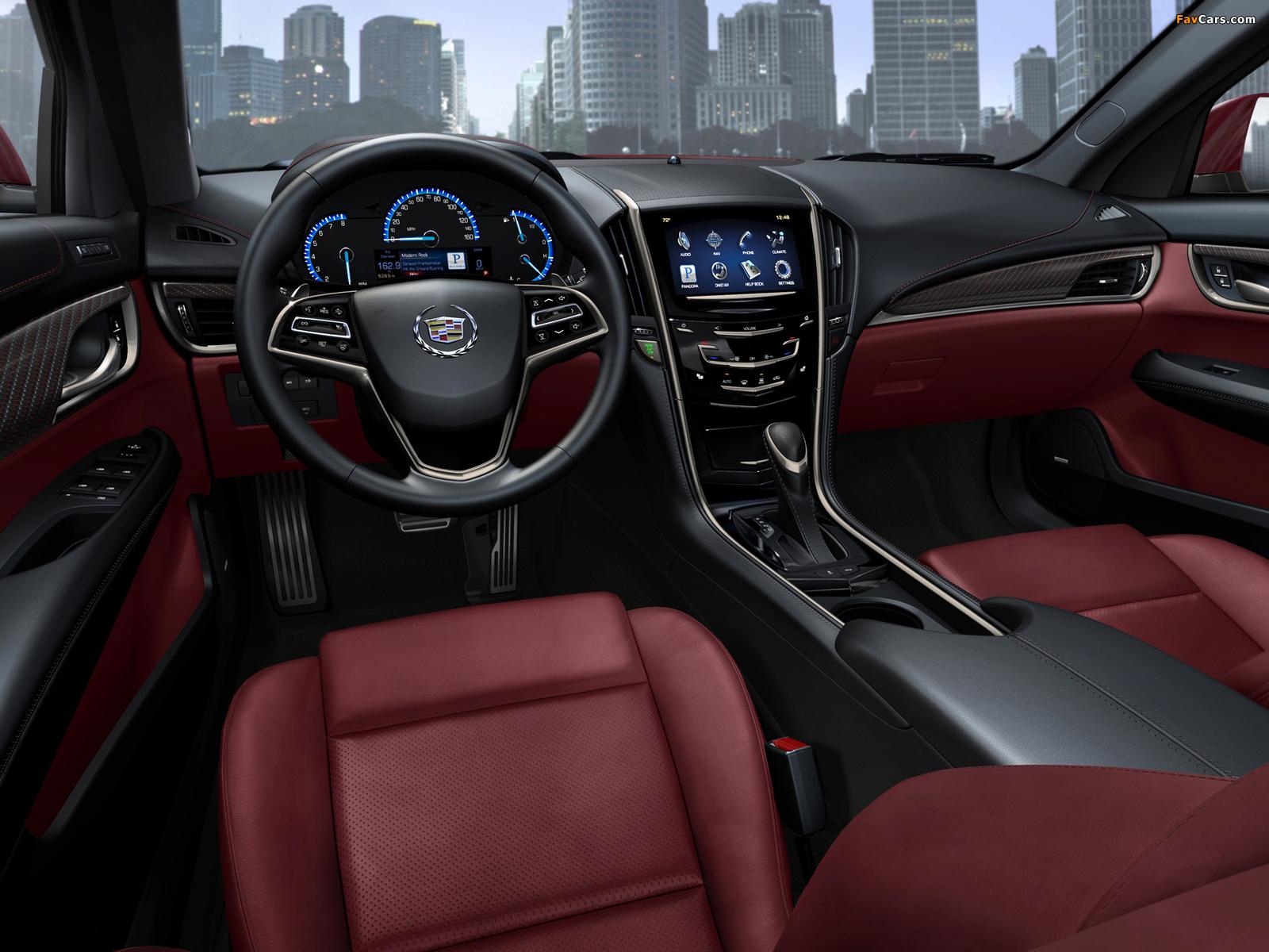 Cadillac ATS 2012 wallpapers (1600 x 1200)