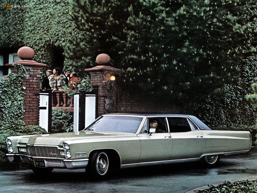 Cadillac Fleetwood Sixty Special Brougham 1968 images (1024x768)
