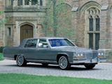 Photos of Cadillac Brougham 1987–89