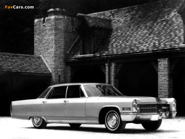 Pictures of Cadillac Fleetwood Sixty Special Brougham 1966 (640 x 480)
