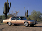 Pictures of Cadillac Brougham 1987–89