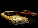 Images of Cadillac Calais Coupe & Hardtop Sedan 1974