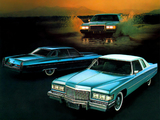 Pictures of Cadillac Calais Hardtop Sedan & Coupe 1975
