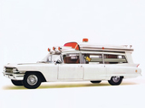 Cadillac Sayers & Scovill Professional High Body 54 Ambulance (6890) 1962 wallpapers