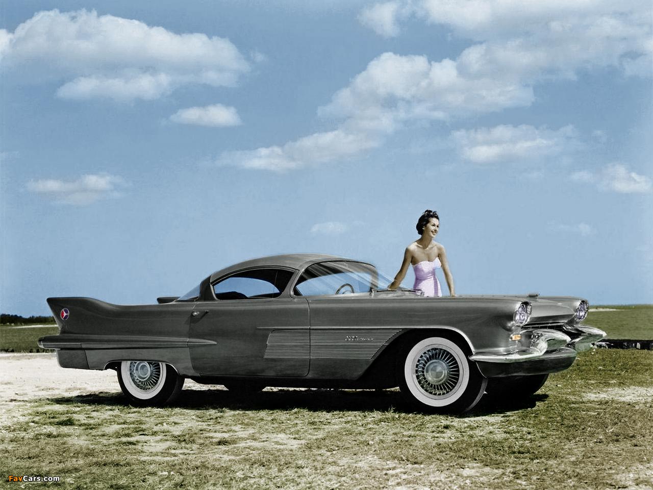 Cadillac El Camino Concept Car 1954 photos (1280 x 960)