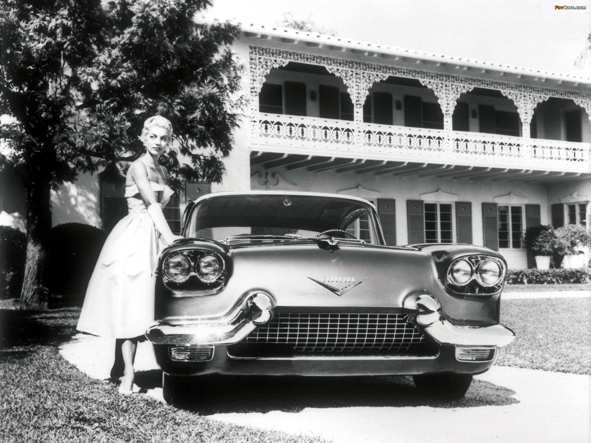 Cadillac Eldorado Brougham Dream Car 1955 wallpapers (1920 x 1440)