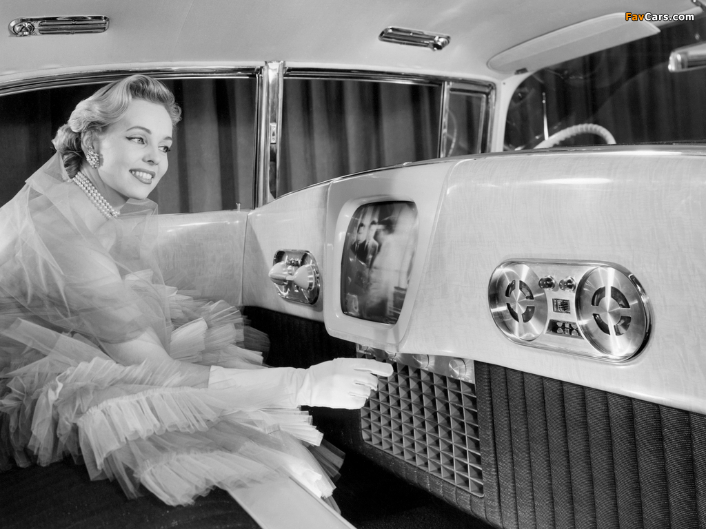 Cadillac Eldorado Brougham Dream Car 1955 wallpapers (1024 x 768)