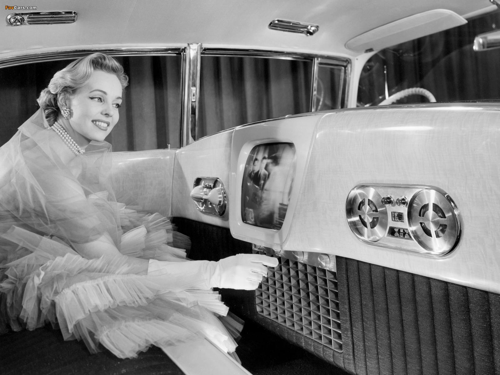 Cadillac Eldorado Brougham Dream Car 1955 wallpapers (1600 x 1200)