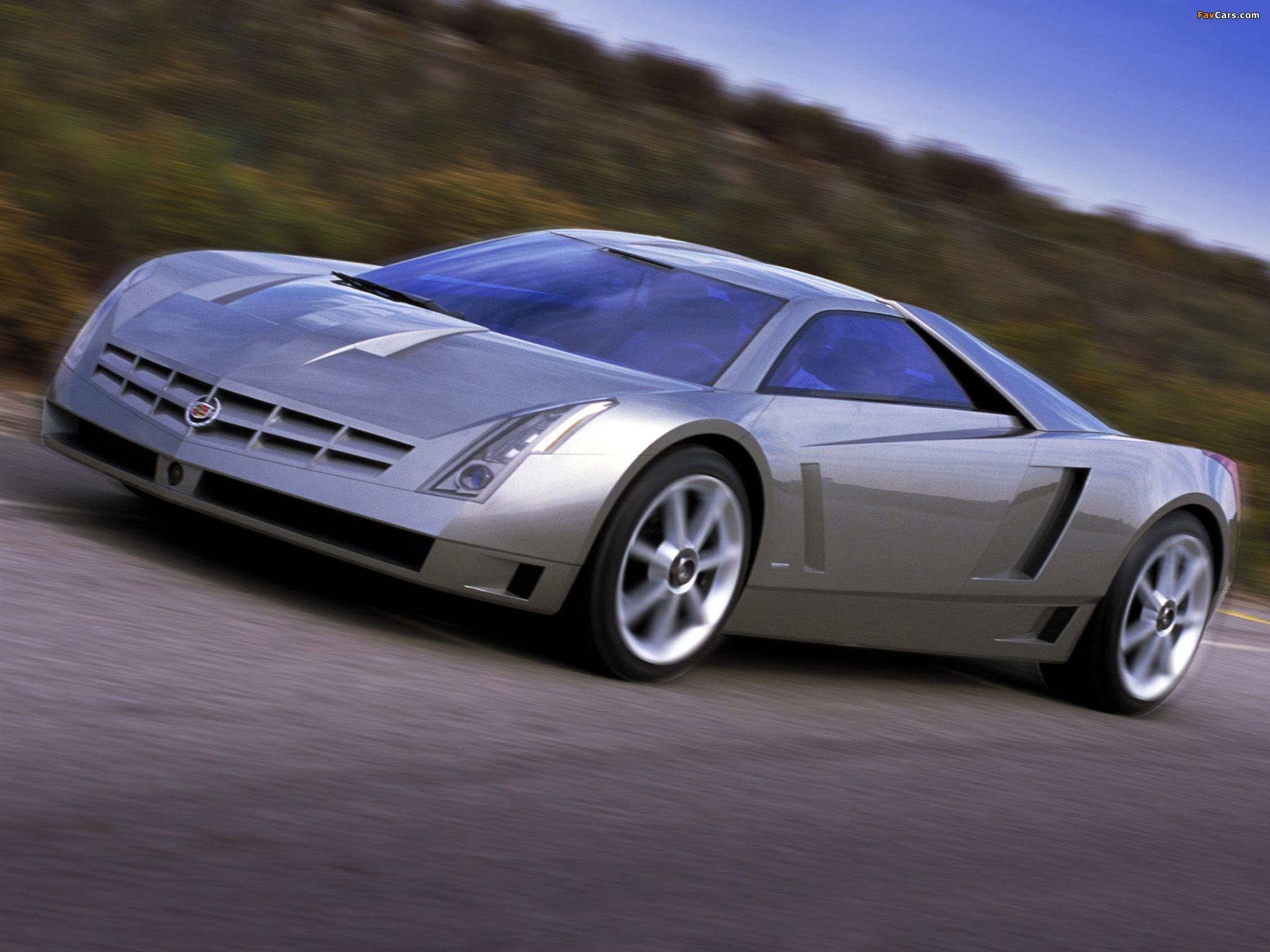 Cadillac Cien Concept 2002 images (2048 x 1536)