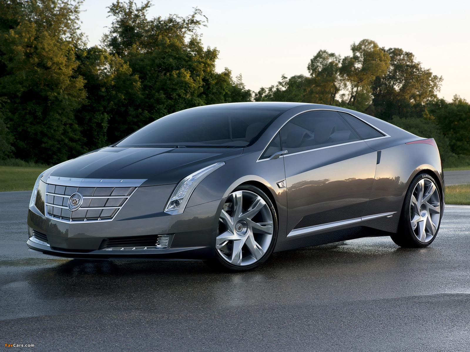 Cadillac Converj Concept 2009 pictures (1600 x 1200)