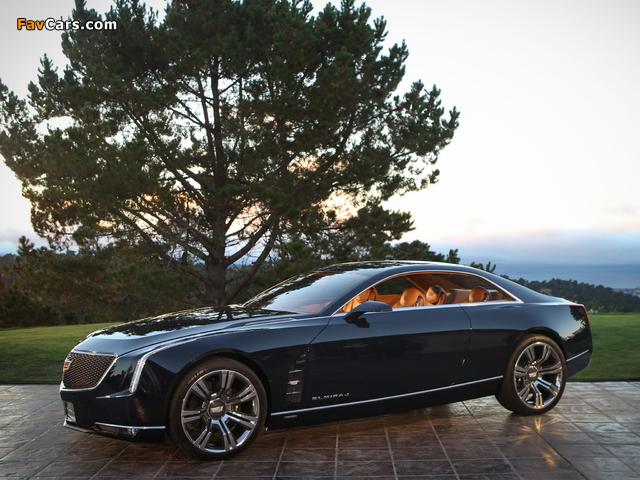 Cadillac Elmiraj Concept 2013 photos (640 x 480)