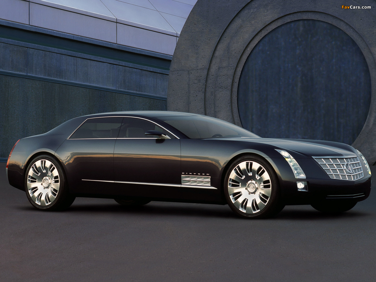 Images of Cadillac Sixteen Concept 2003 (1280 x 960)