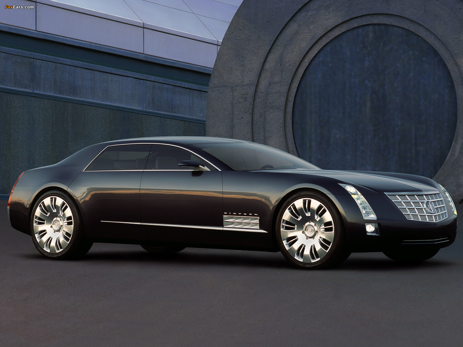 Images of Cadillac Sixteen Concept 2003 (1600 x 1200)