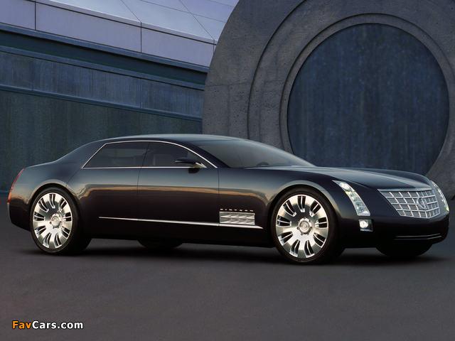 Images of Cadillac Sixteen Concept 2003 (640 x 480)